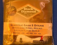 Black Diamond - Electric Bass Strings - Steel - 45-125
