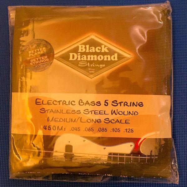 Black Diamond - Electric Bass Strings - Steel - 45-125